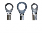 6 Gauge Un-Insulated Ring Terminals