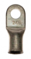 "2/0 AWG 3/8"" Tin Plated Copper Lug"