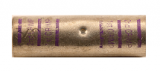 3/0 AWG Heavy Duty Seamless Butt Connector (Purple)