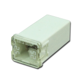 JCASE Cartridge Fuse 25A White