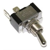 Mom On-Off Toggle Switch SPST blade terminals